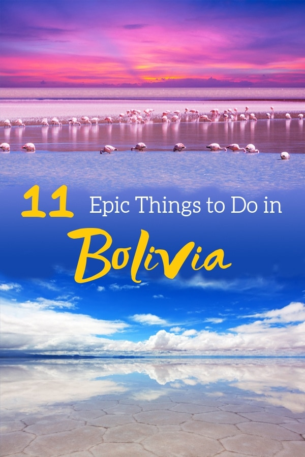 Planning a visit to #Bolivia? Here are 11 Epic Things to Do in Bolivia. From capturing awesome photographs at the famous #SalarDeUyuni to marveling at the beautiful landscapes around #LaPaz, read through this #TravelGuide to make your trip to Bolivia a memorable one.