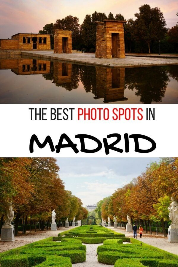 Madrid Spain Photography Spot: This self-guided tour takes you to the best spots for photographs in Madrid, Spain. These awesome Instagram spots in Madrid are great places to photography the city. #Madrid #Madridphotography #MadridSpain