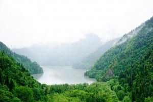 Abkhazia Guide: Visiting Lake Ritsa