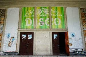 What to do in Abkhazia: An abandoned disco in Gagra