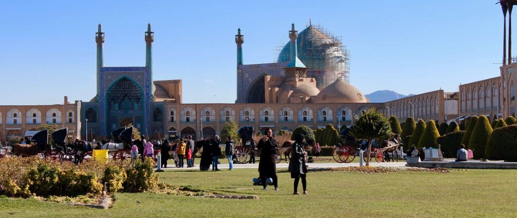 Isfahan, Iran - A key site for tourists