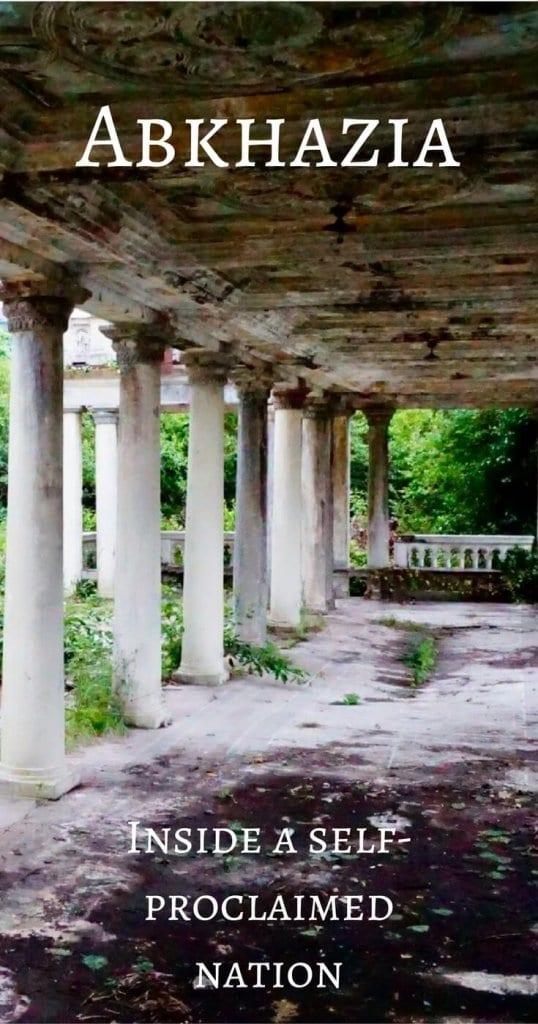 Abkhazia Travel Diary - Pinterest Pin
