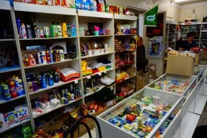 Chernobyl tours : a convenience store