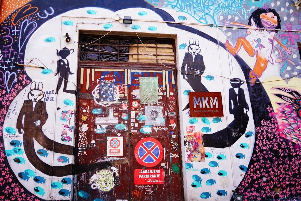 Belgrade Street Art: lots of street art