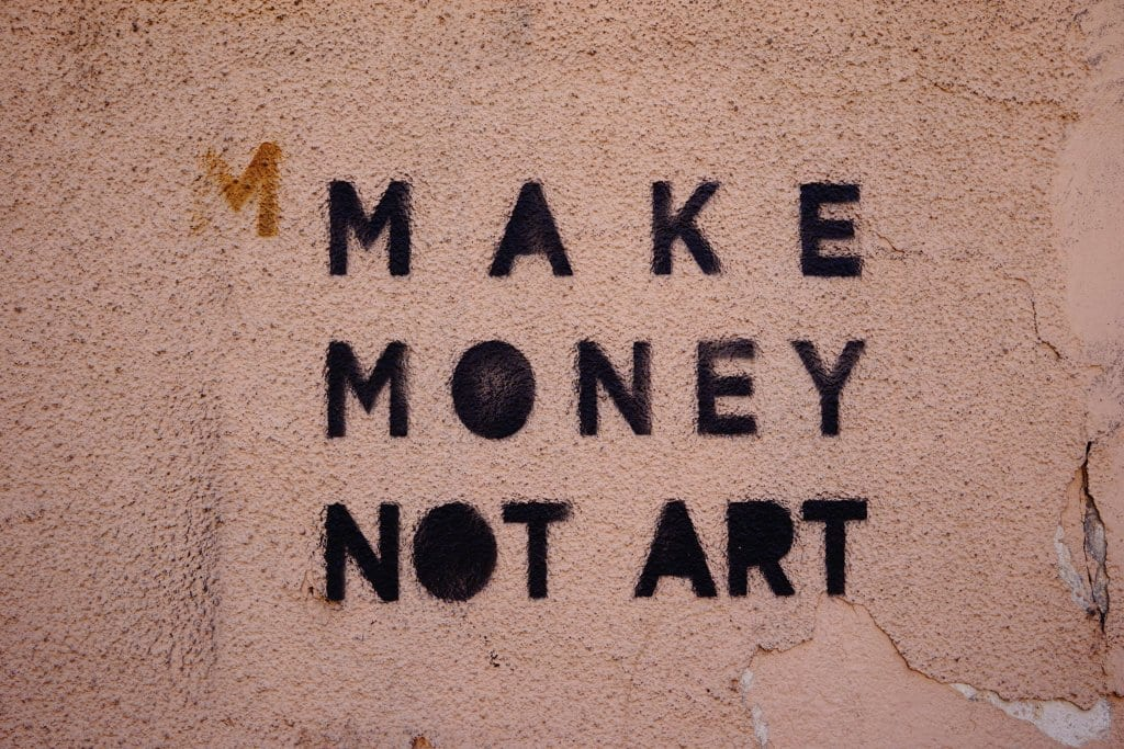 Belgrade Street Art: Make Money Not Art