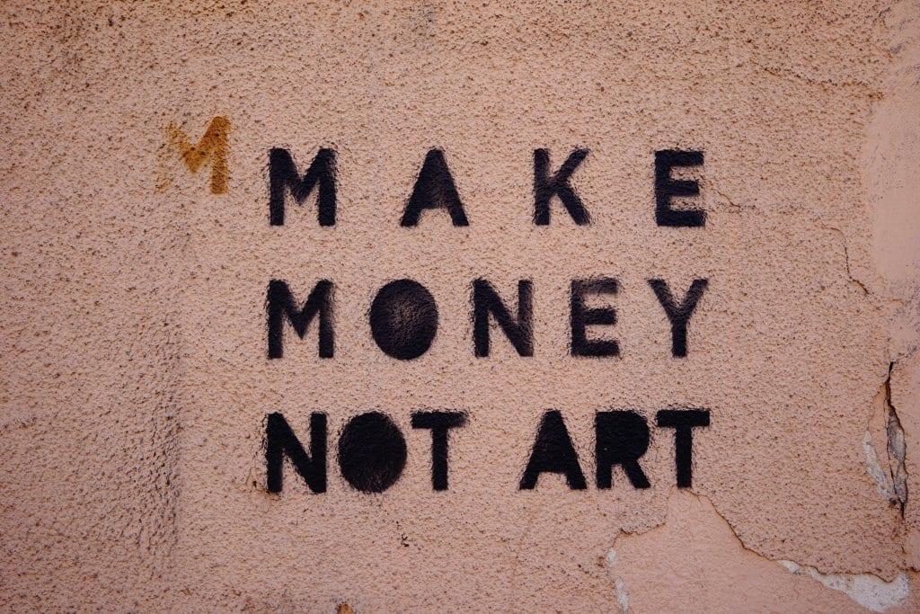 Belgrade Street Art: Make Money Not Art
