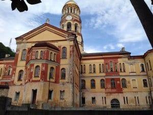 Abkhazia guide: New Athos Monastery