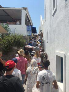 Skip Santorini's overcrowded streets