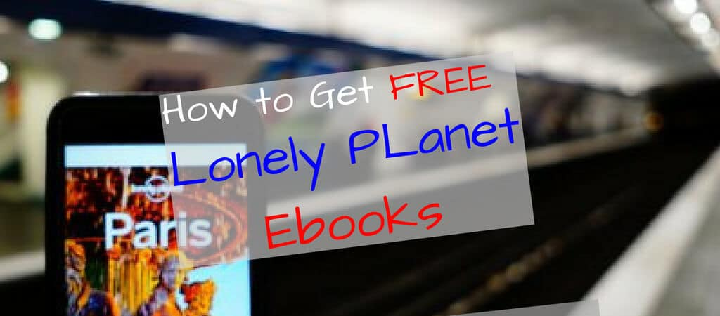 Free Lonely Planet PDF and Ebook Download Trick