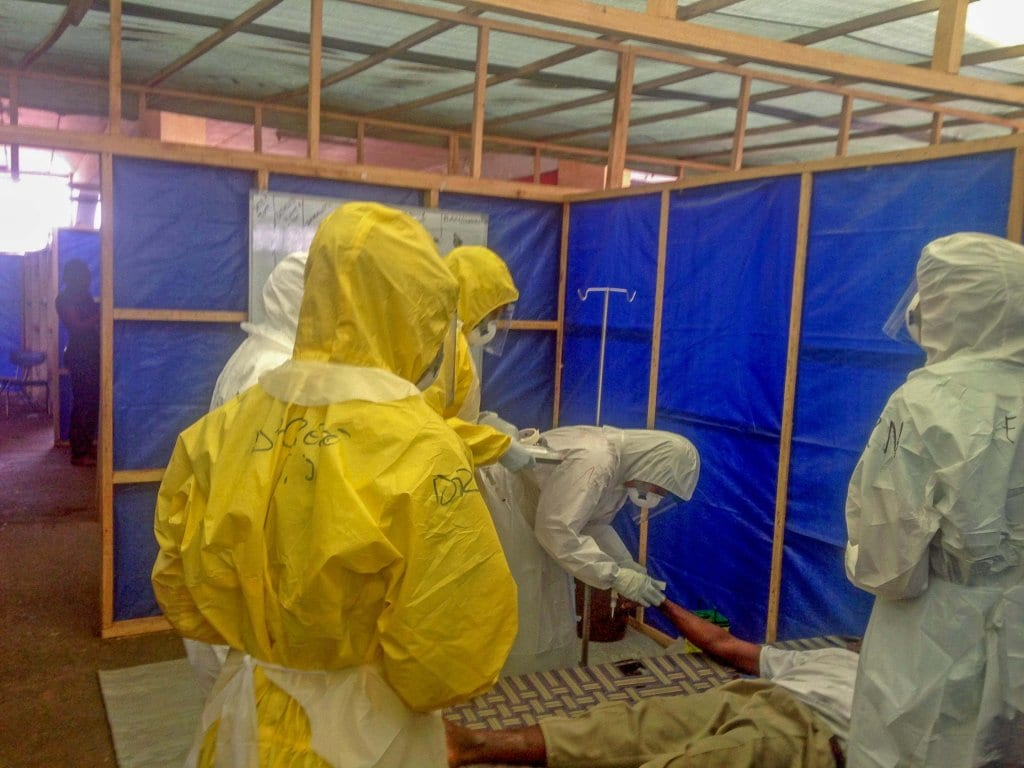 FIghting Ebola in Sierra Leone