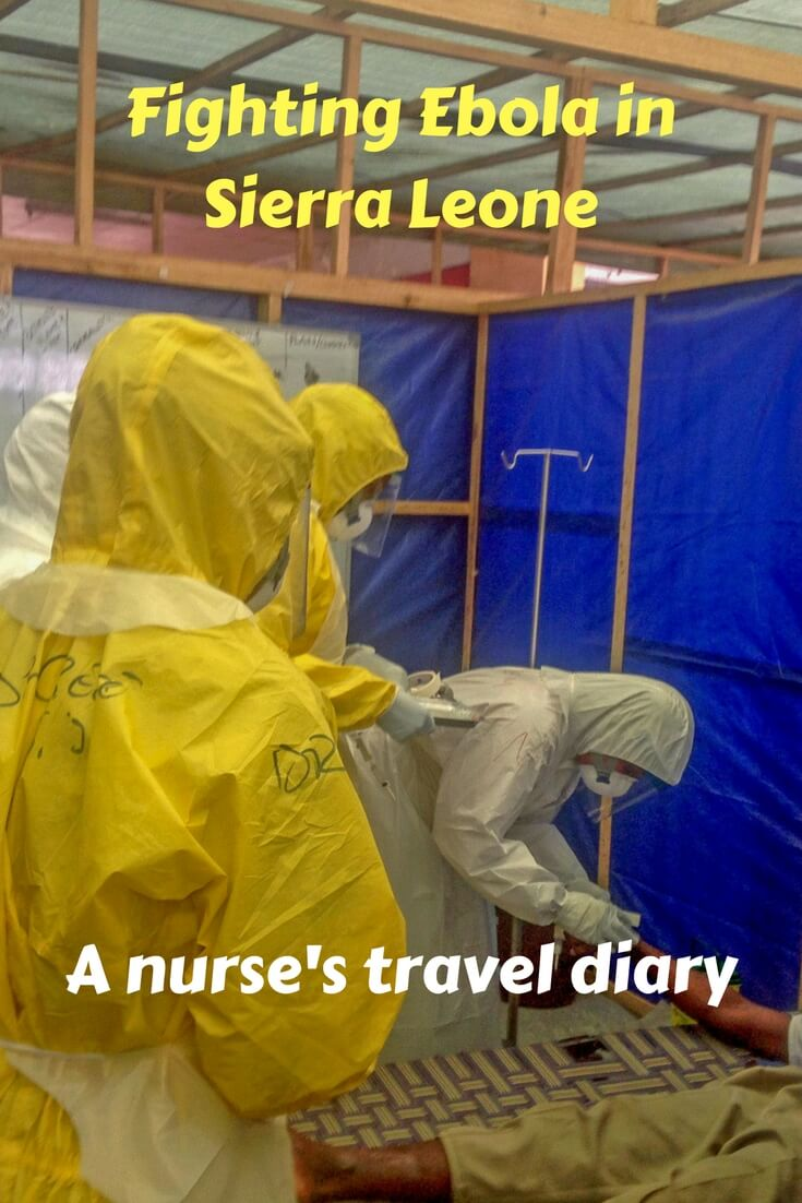 A nurse tells her perspective of what it was like to travel to Sierra Leona to help fight the ebola virus outbreak in west Africa.