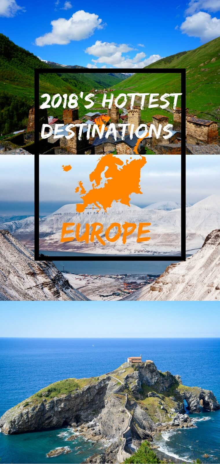 2018's Hottest Travel Destinations in Europe: From Spain to Norway, we've got you covered with the best off-the-beaten path and emerging travel destinations in Europe.