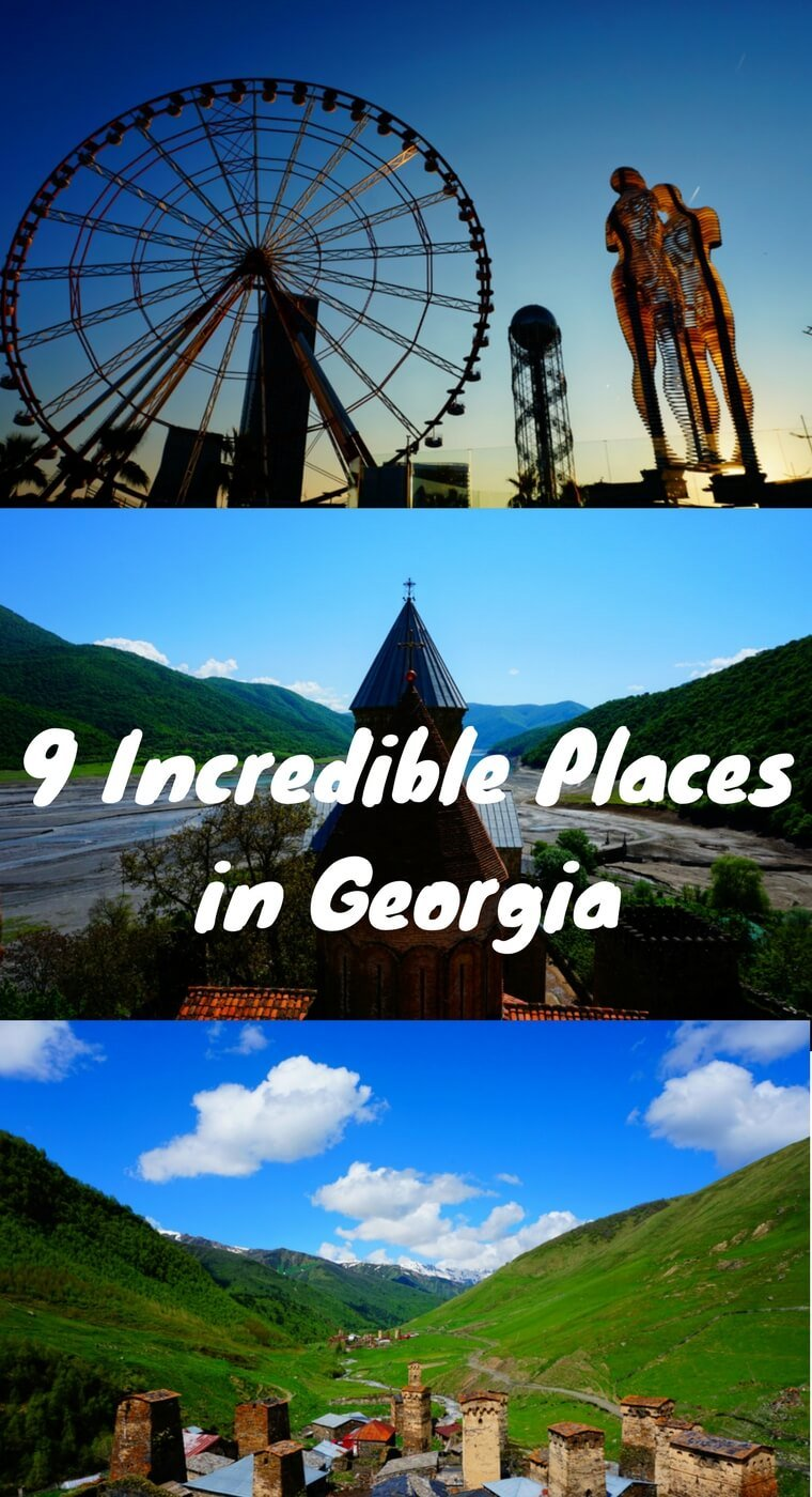 You won't want to miss these 9 incredible places to visit in the country of Europe. From Tbilisi to Batumi to Svaneti, there is so much to see and do in Georgia (Europe)