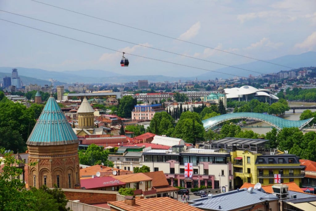 places to visit in Georgia Europe Tbilisi