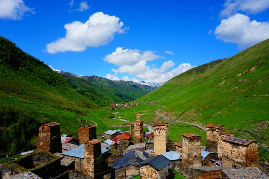 Places to visit in Georgia Europe Ushguli