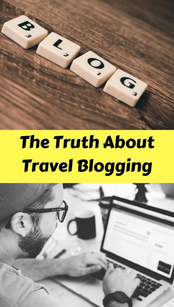 Travel Blogging for Beginners: 4 Hard Truths about what it takes to become a travel blogger, and how hard it is to earn money while travel blogging.