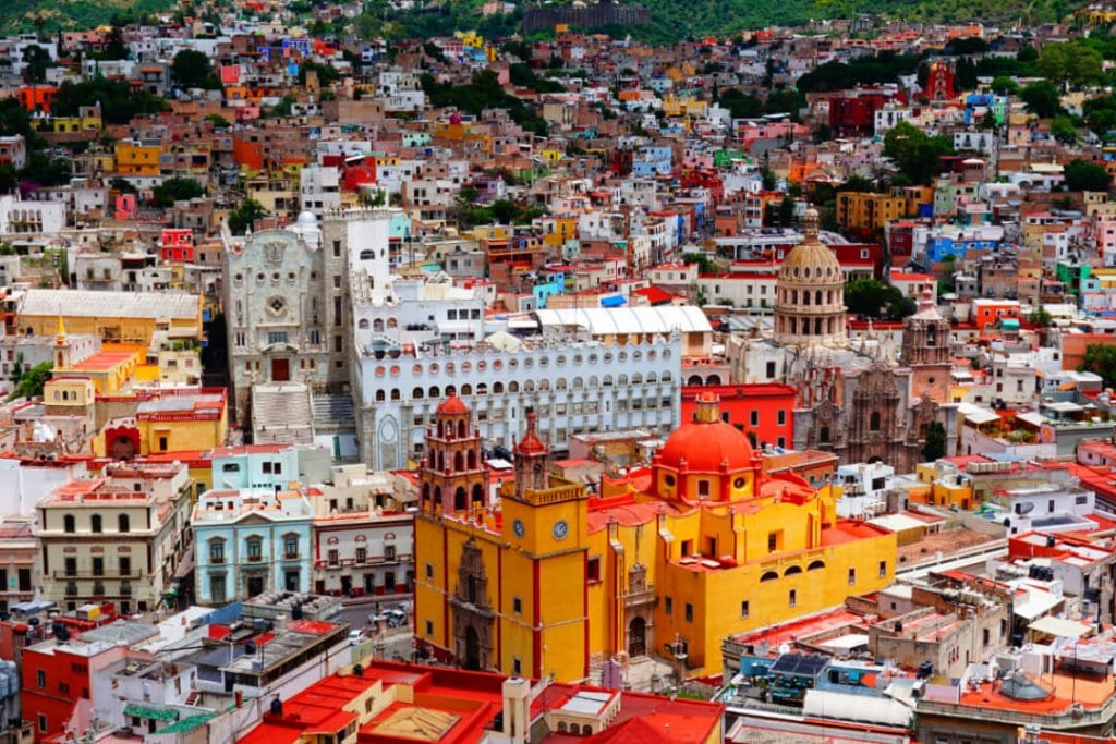 Destinations in North America Guanajuato