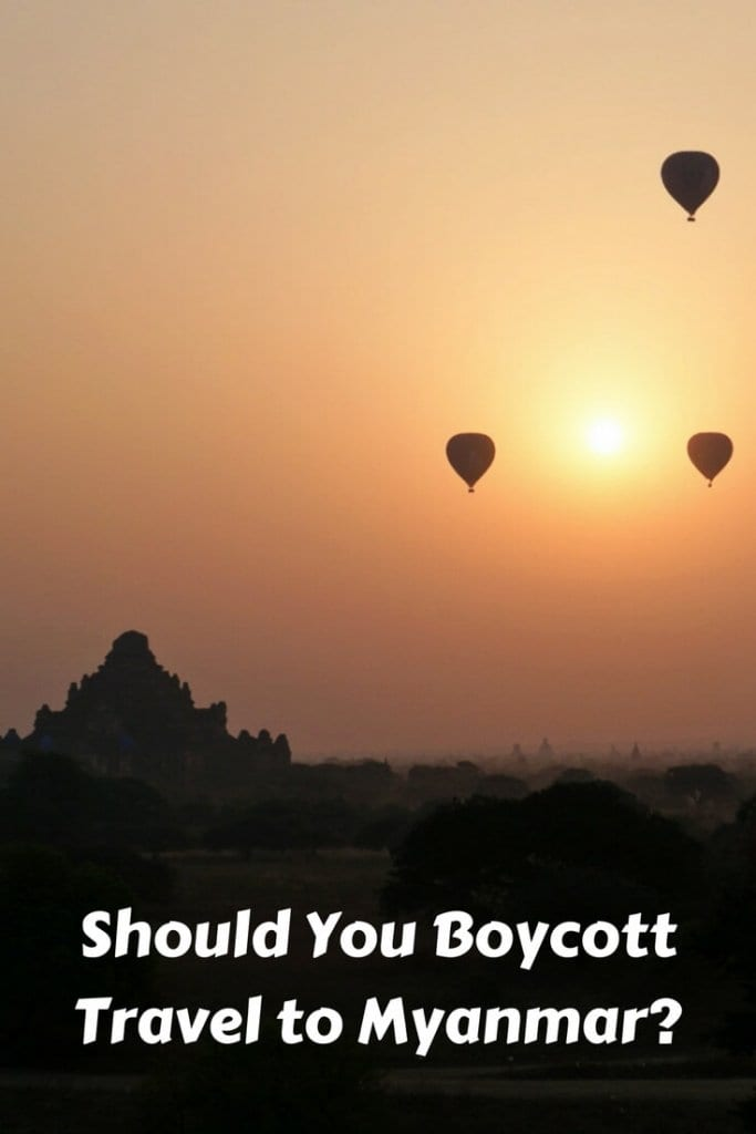 Should travelers boycott Myanmar in light of the ongoing humanitarian crisis in Rakhine state? This thought piece explores the recent tragedy, and the arguments for and against a travel boycott of Myanmar (Burma).