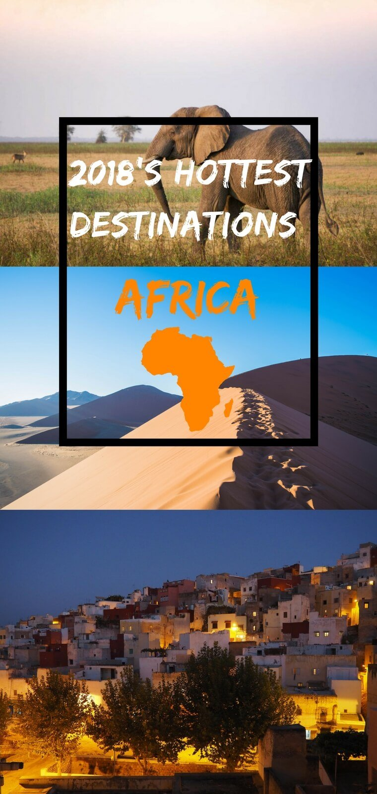 You won't want to miss these awesome destinations in Africa for 2018. From exploring sand dunes in Namibia to dancing the night away in Nairobi, there is a lot more to do on the continent of Africa than just safaris.