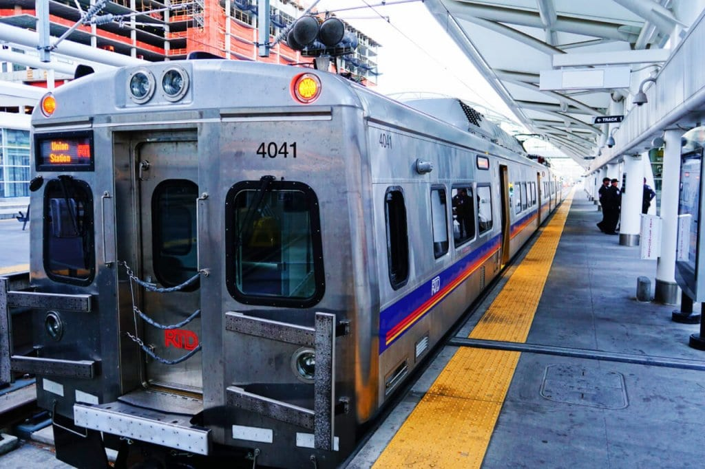 Denver Transportation Guide - An RTD Train