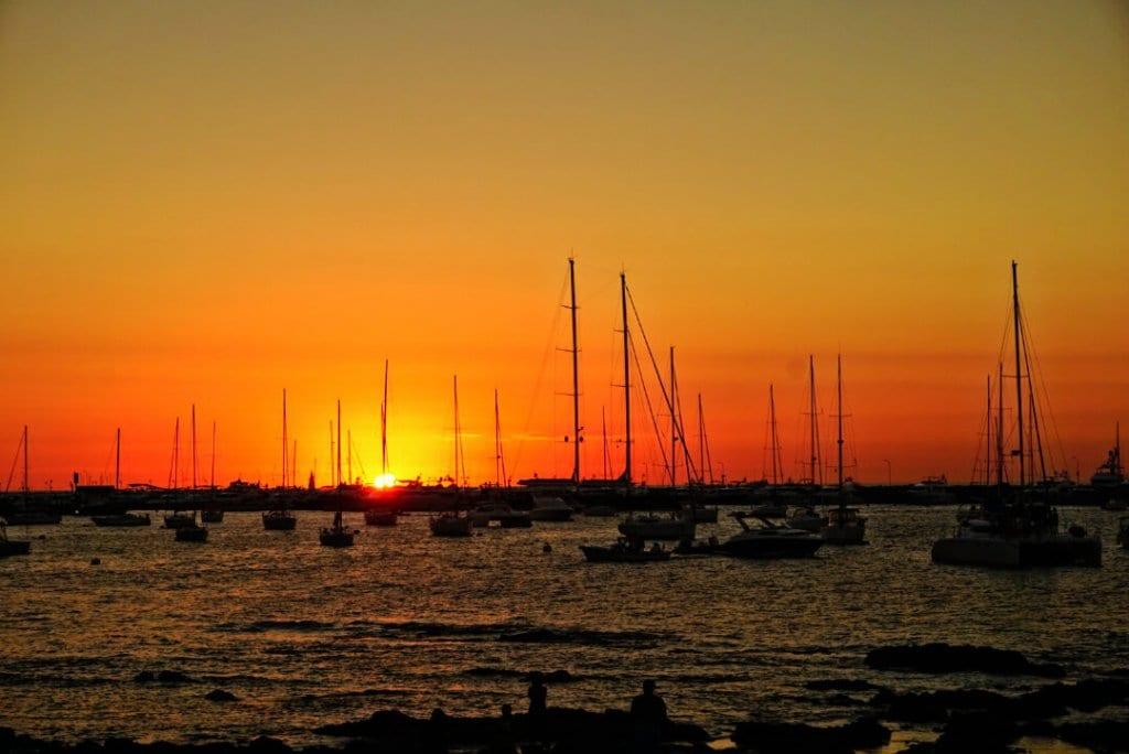 Best Places to Visit in South America _ Uruguay Punta Del Este Sunset