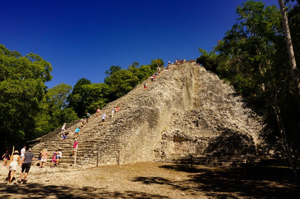 The Coba Ruins near Tulum, Quintana Roo Mexico