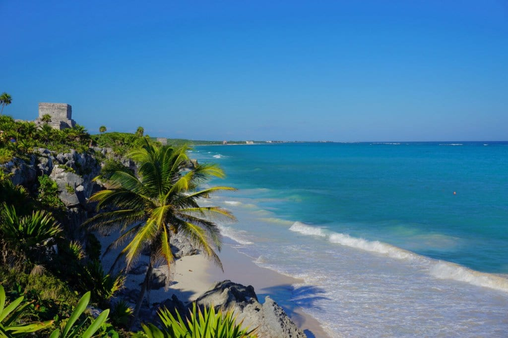 Mayan Ruins Overlooking Tulum's Beach