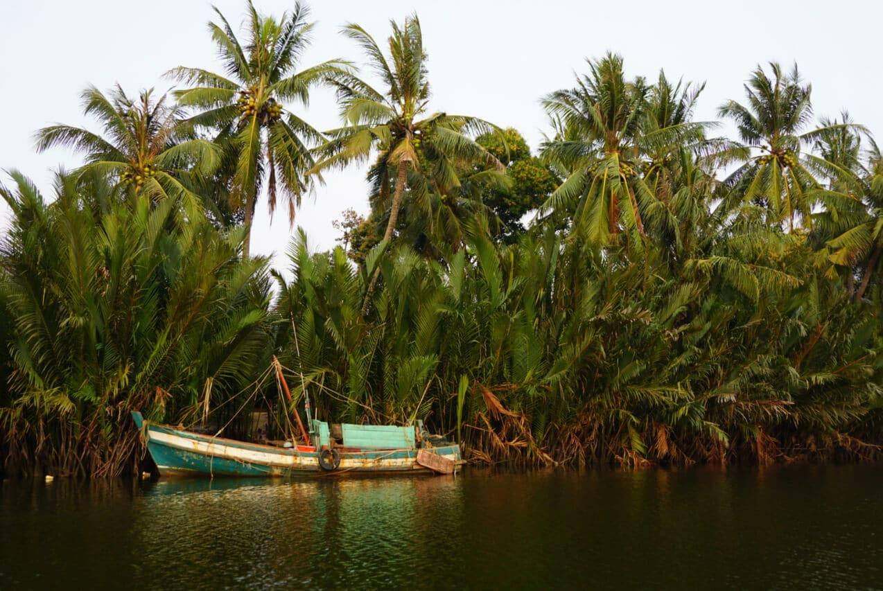 A boat near Kampot