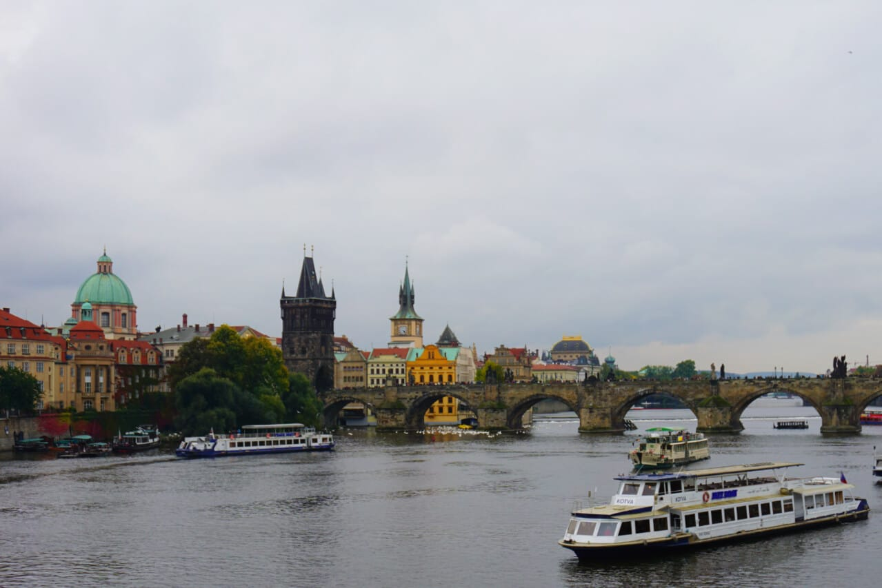 A cloudy day in Prague