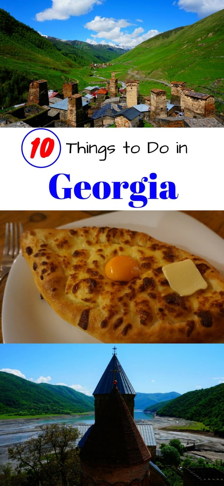 Don't miss these 10 incredible things to do in the country of Georgia (Europe). From visiting Old Town Tbilisi to hiking Kazbegi, we've got you covered with the top sights in Georgia. #georgia #travel