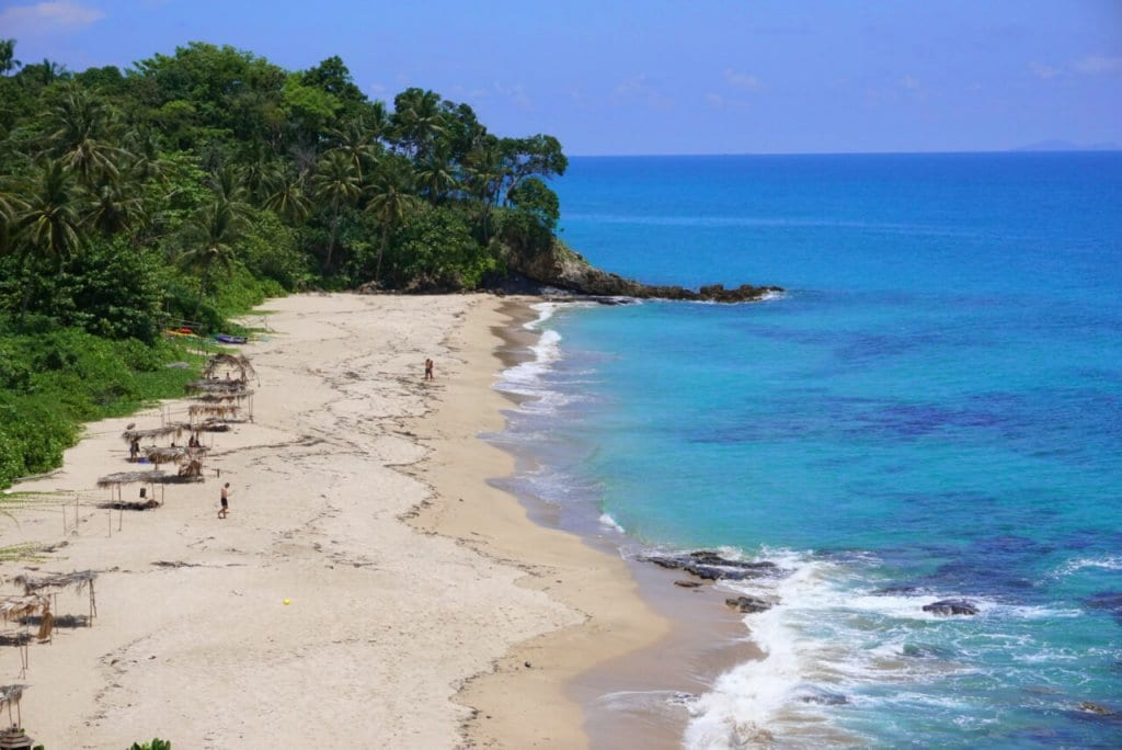 Solo Travel in Thailand: A Beach in Koh Lanta