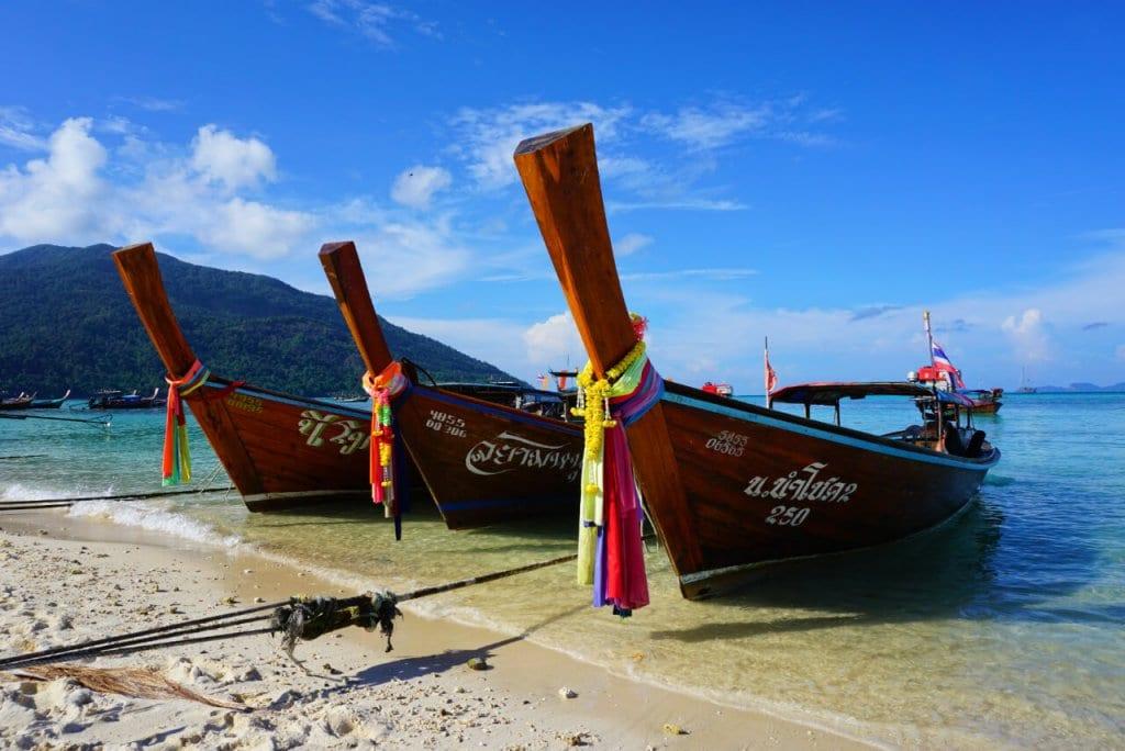 Solo Travel Thailand: Koh Lipe Boats
