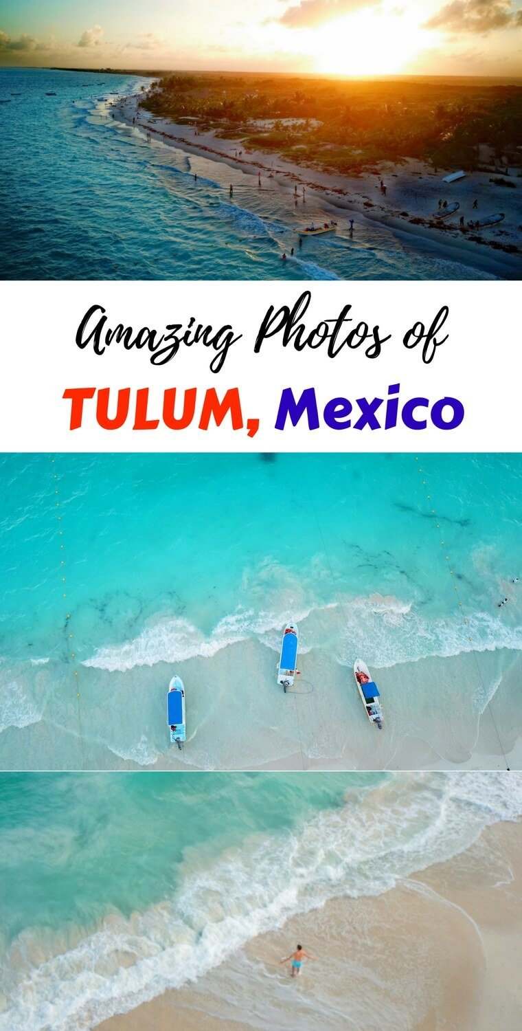 These photos of Tulum, Mexico will have you want to book tickets to this Caribbean paradise. Check out these incredible pictures of the beaches in Tulum!