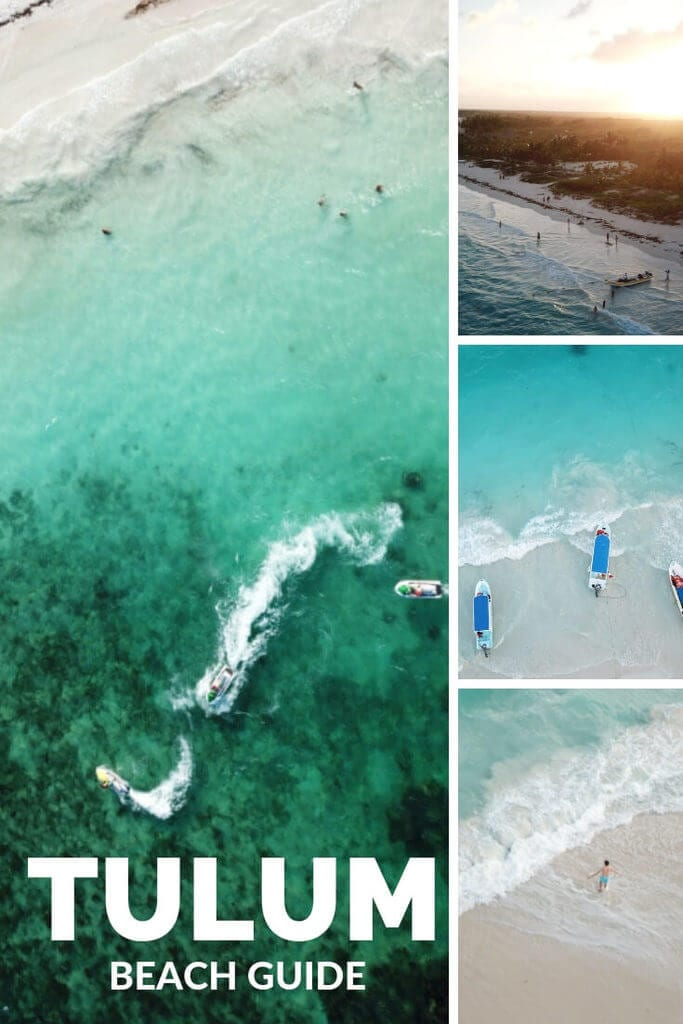 Tulum Beach Guide: #Tulum #Mexico has some of the best beaches on the planet. Find out which beach to visit, where to stay in Tulum, what to do in Tulum, and more in this comprehensive travel guide!