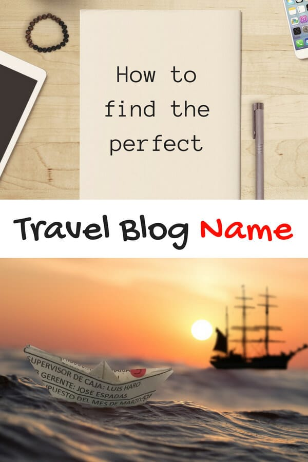 Travel Blog Names: The Ultimate Guide to Picking One in Ten Easy Steps. Finding the best name for your travel blog isn't easy, so follow these steps to find the perfect one! #travelblog #travelblogname #blogging