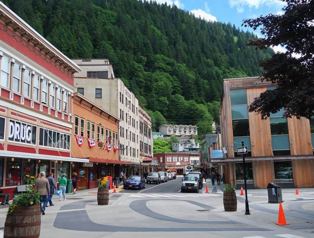 Front Street, one of the top things to do in Juneau, Alaska