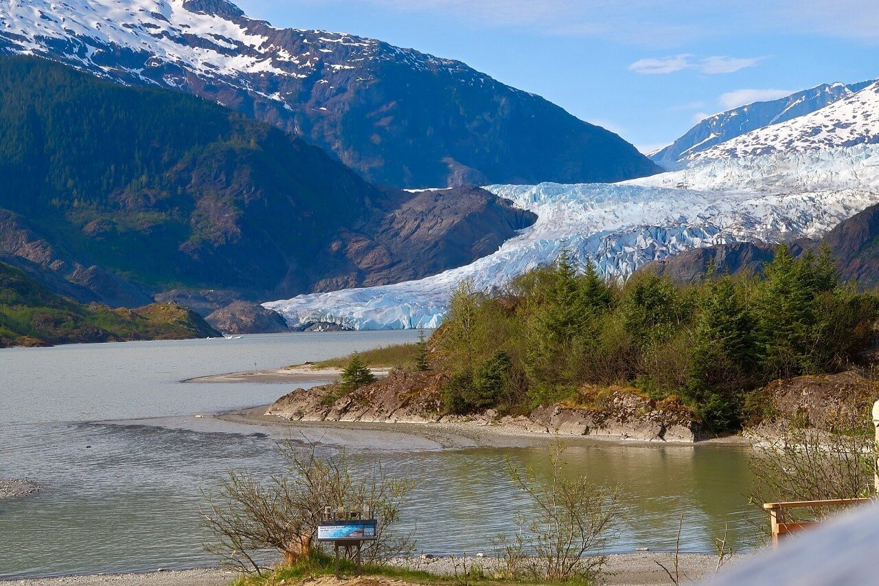Mendenhall Glacier, a top thing to do in Juneau