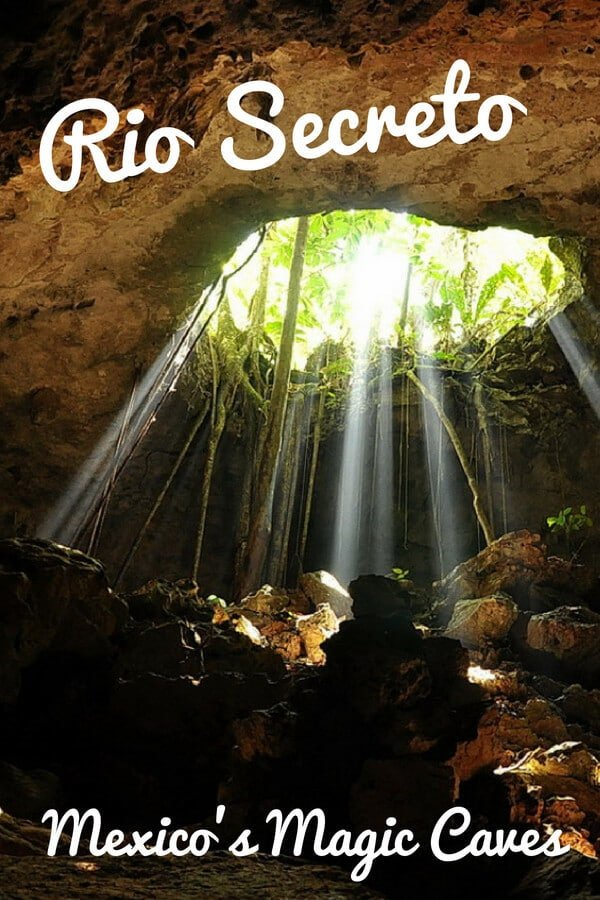 Rio Secreto: A guide to the magical caves and underground river near Playa del Carmen, Mexico. Learn why you should visit the Rio Secreto Nature Reserve. #RioSecreto #ThingstoDoinPlayadelCarmen #Cancun #caves
