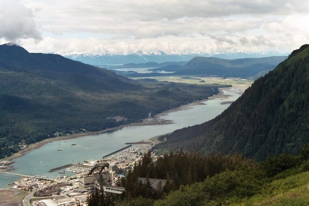 Mount Roberts Tram View of Juneau