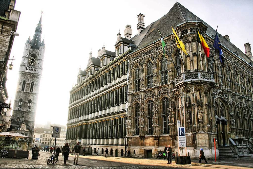 What to do in Ghent Belgium: the Graslei