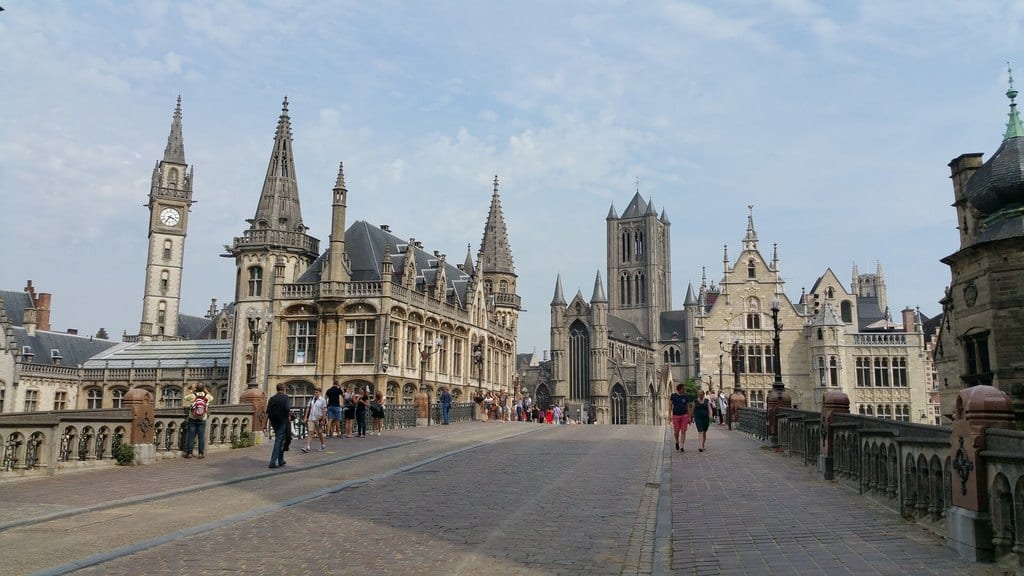 Strolling the city, a top thing to do in Ghent