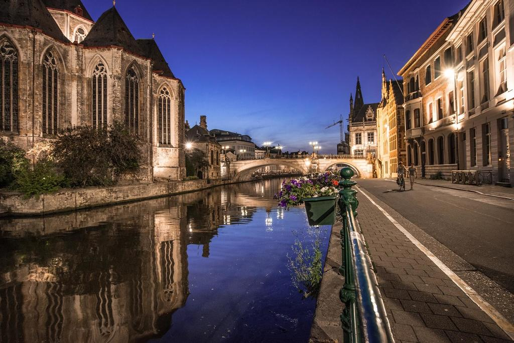 Streets of Patershold, one of the best things to do in Ghent Belgium