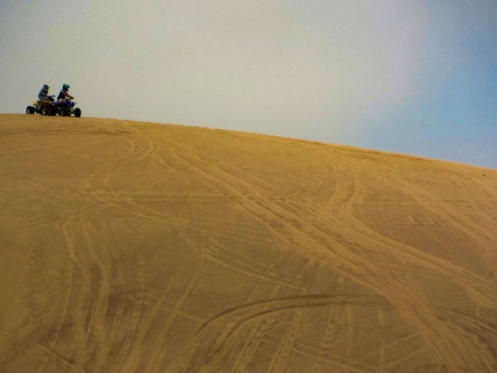 An ATV tour is one of the Top Things to do in Swakopmund