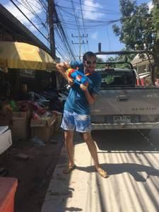Songkram in Thailand