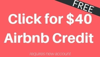 Get $40 Credit FREE Airbnb Travel Credit