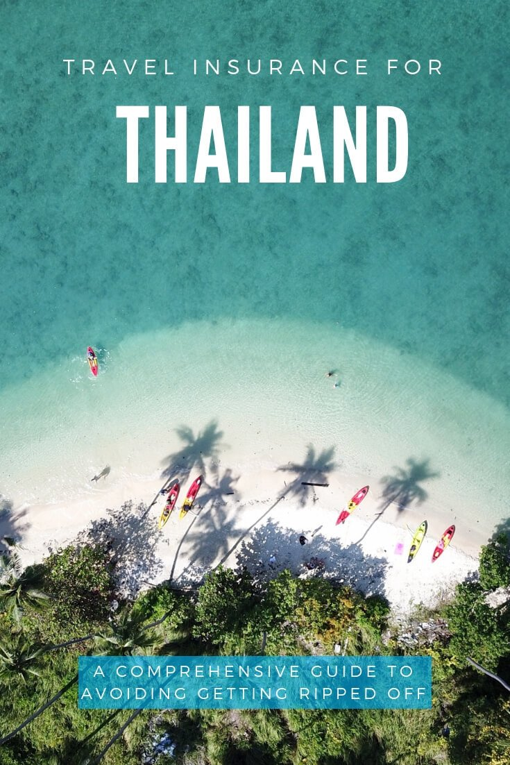 Thailand Travel Insurance: do you really need it? In comprehensive guide to insurance for Thailand, I'll cover the safety risks in Thailand, whether insurance is worth it, and tell you how I personally buy my own insurance for Thailand. #Thailand #travel #travelinsurance
