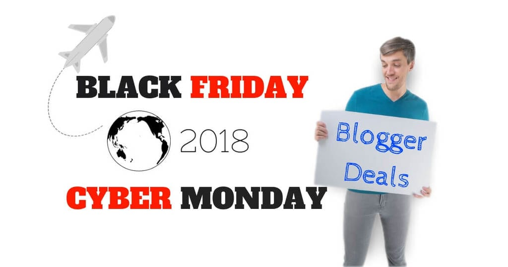 Travel Blogger Black Friday Deals 2018