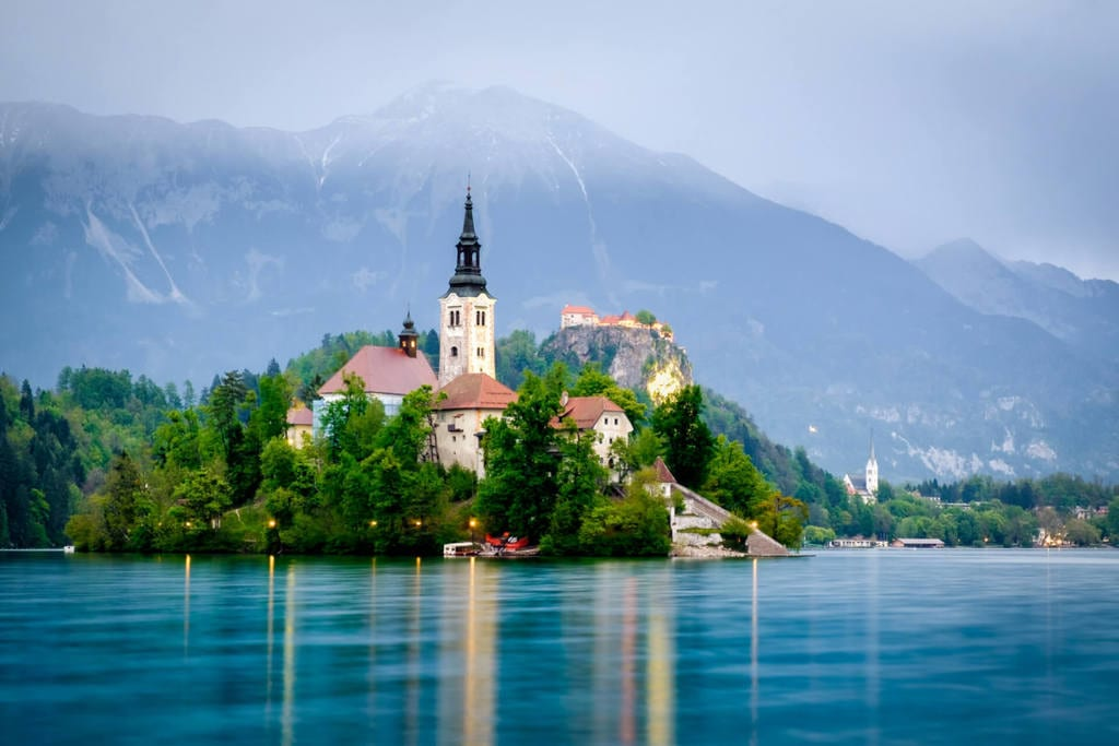 Lake Bled Slovenia, a top European emerging destination in Europe