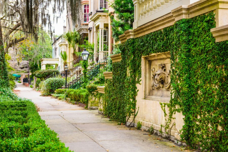 Savannah, a top vacation destination in North America for 2019
