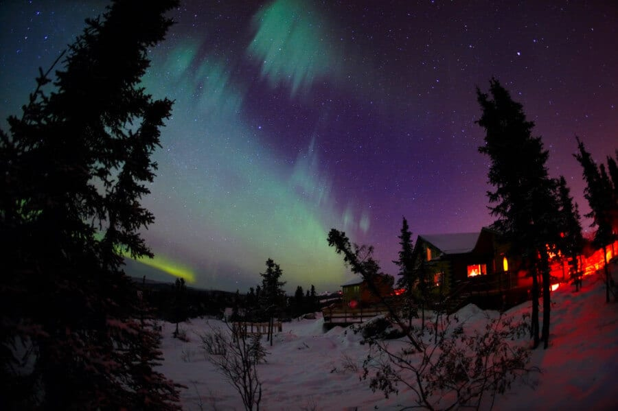 Aurora Borealis in the winter, Fairbanks, Alaska, a top North America travel destination
